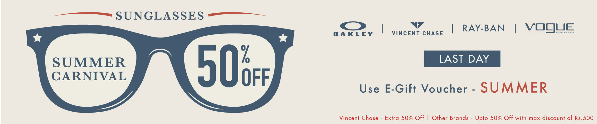 Get Upto 50% OFF + Extra 30% OFF + Extra 20% Cash back on Sunglasses @ Lenskart – Others