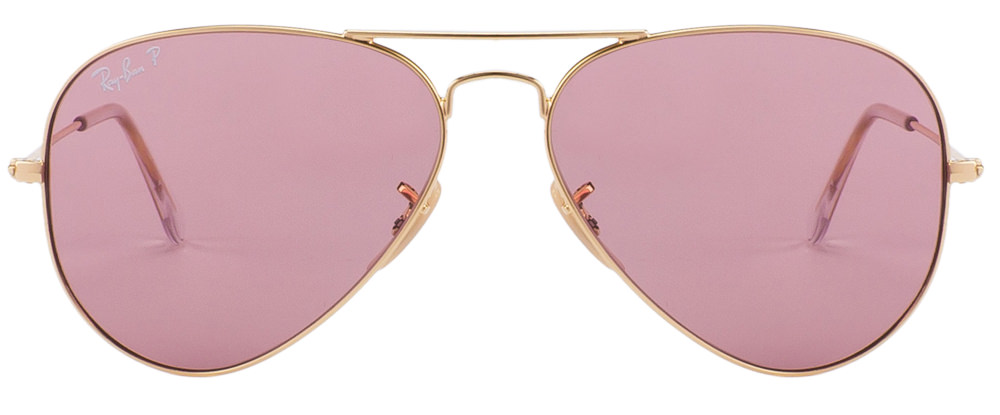 ray ban aviator frame only