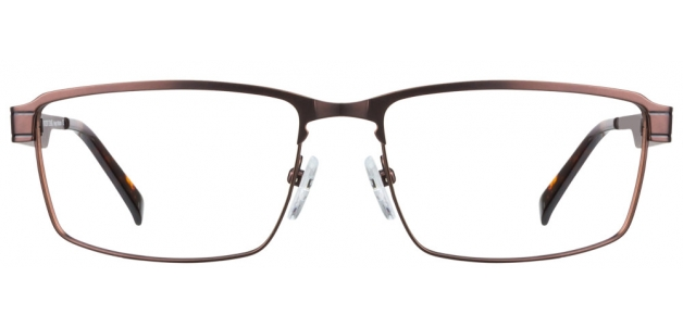 Vincent Chase VC 6304 Matte Brown P0P0 FR Eyeglasses