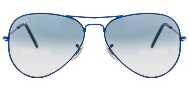 Ray Ban RB3025I 088/3F Size-58 Metal Blue Men Metal Sunglasses