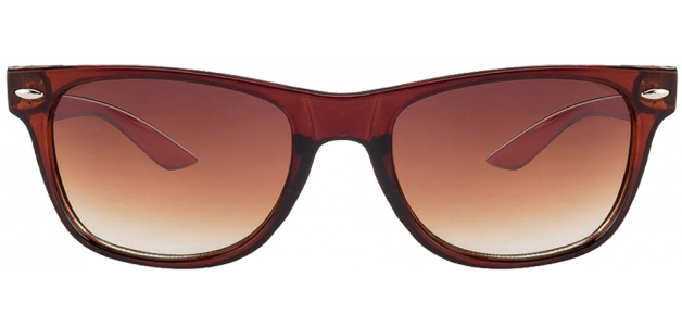Vincent Chase B1126 Brown Brown Gradient Wayfarer Sunglasses