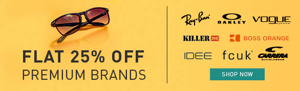 b9a0c6bec7 Flat 25% Off Premium Brands of Sunglasses   much more offers   Lenskart –  Rs.1500 – Eye and Vision
