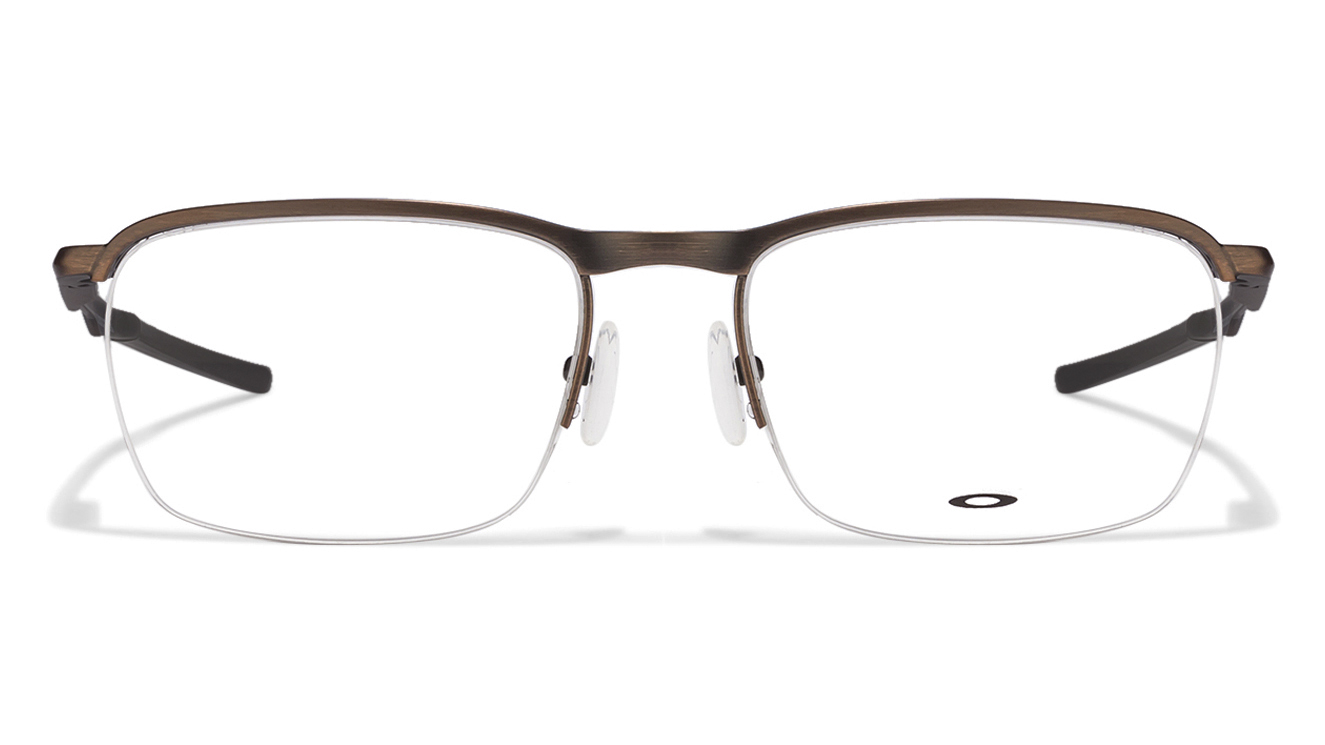 6d61c91b96b Buy Oakley Conductor 0.5 OX3187 Size-53 Brown Black 04 Eyeglasses   Rs.6490